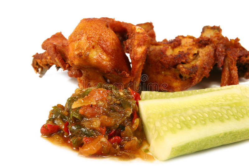 Download Chili Chicken Portion Stock Image - Image: 12021351