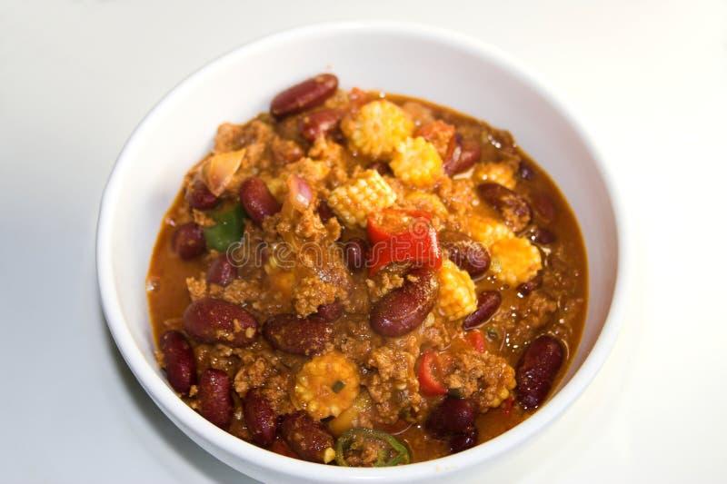 Chili con carne stock foto
