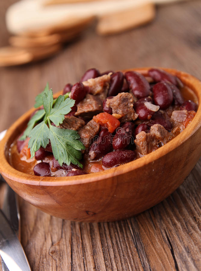 Download Chili con carne stock image. Image of cuisine, beans - 22062707
