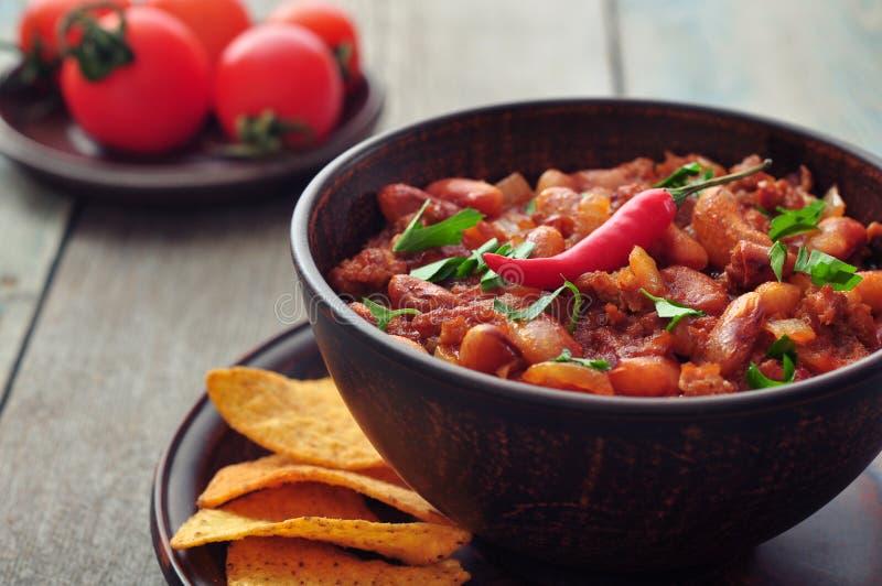 Chili Con Carne lizenzfreies stockbild