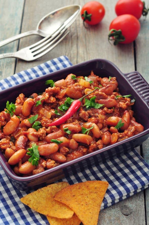 Chili Con Carne stock fotografie