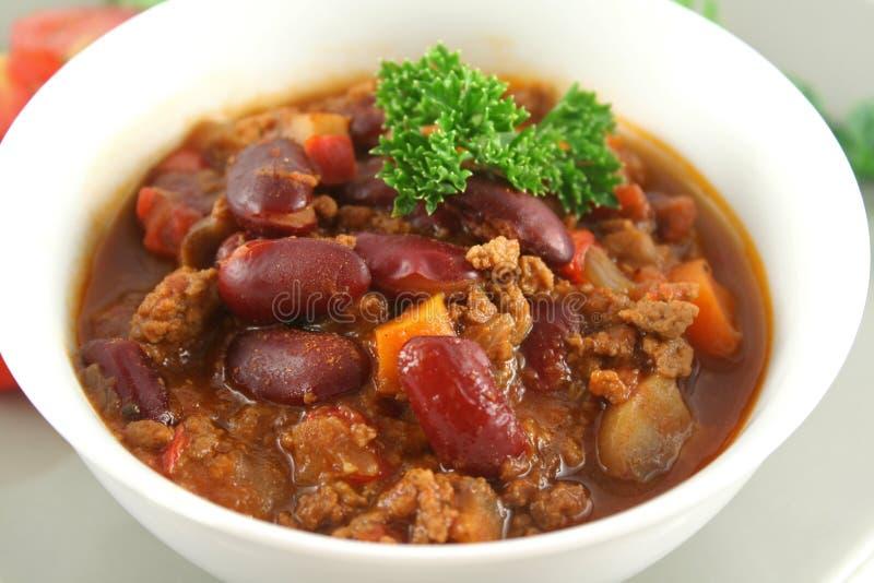 Chili con carne   stock afbeelding