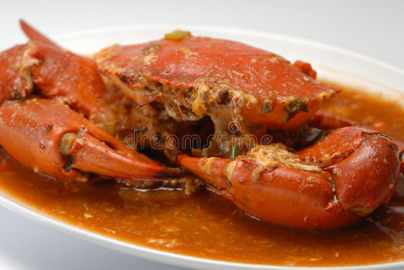 Chili Crab royalty free stock image