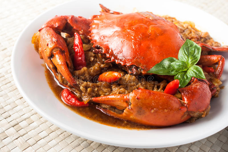 Chili crab stock photos