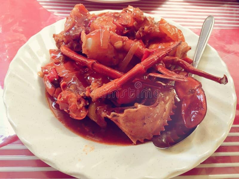Chili Crab imágenes de archivo libres de regalías