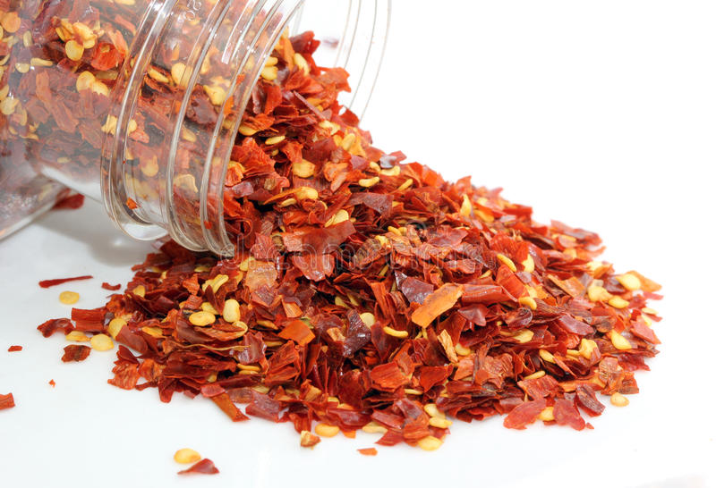 Chili Flakes Stock Image