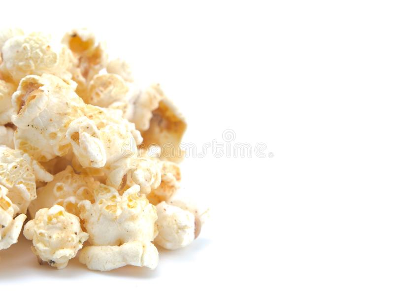 Chili Flavored Popcorn stock afbeeldingen
