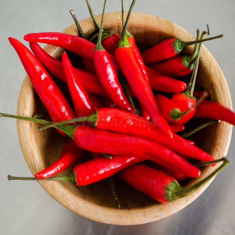 Chili gorący pieprze obraz stock