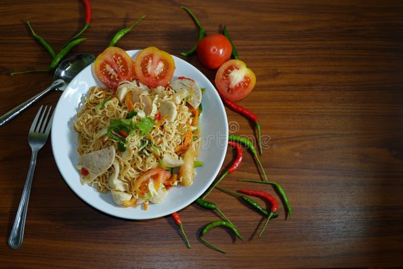 Chili i pomidor fotografia stock