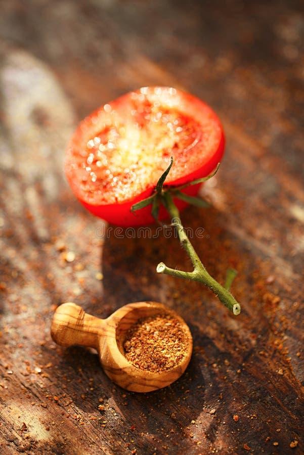 Chili Lime Salt spice blend stock photos