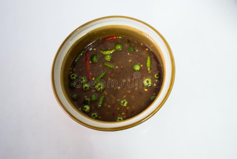 Chili Paste immagine stock
