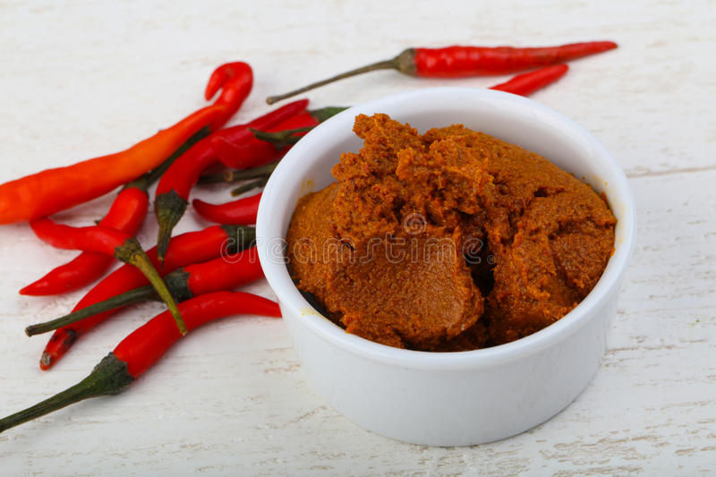 Chili paste stock images