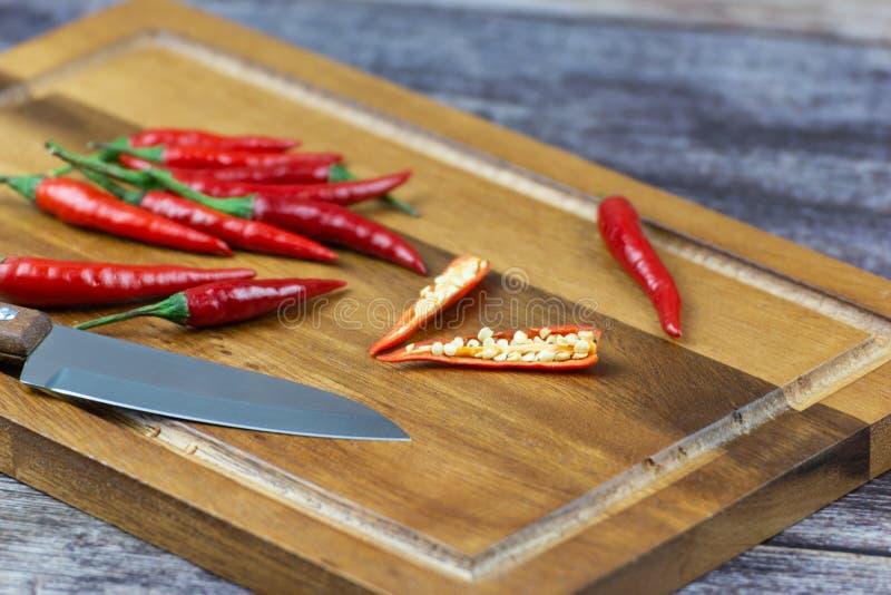Chili - pepparv?xterna till naturen av sf?ren arkivbilder