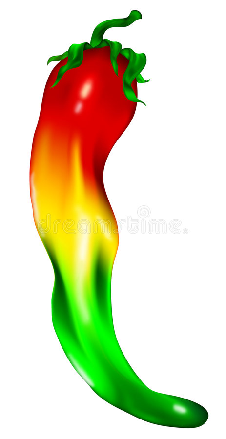 chili pepper ilustracja wektor