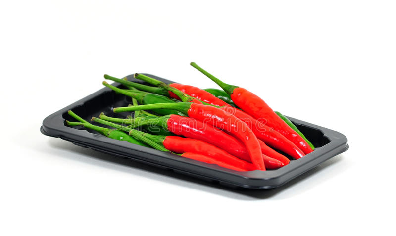 Chili Pepper Isolated. Royalty Free Stock Photos
