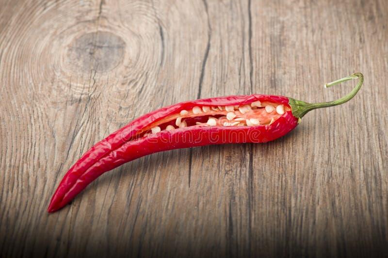 Chili Pepper rosso immagine stock
