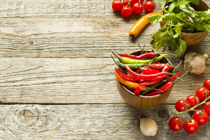 Bowl Of Chili Garlic Seasoning Stock Image Image Of