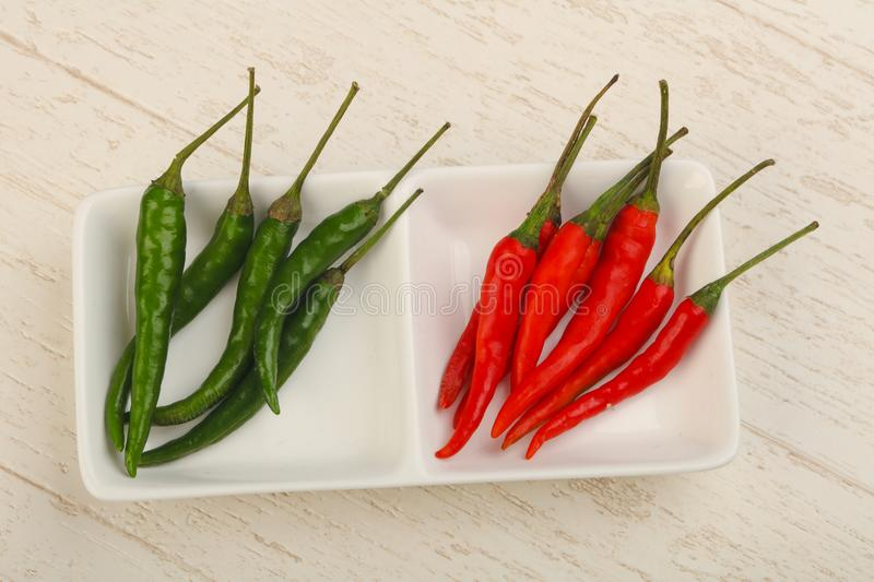 Chili Peppers royaltyfria foton