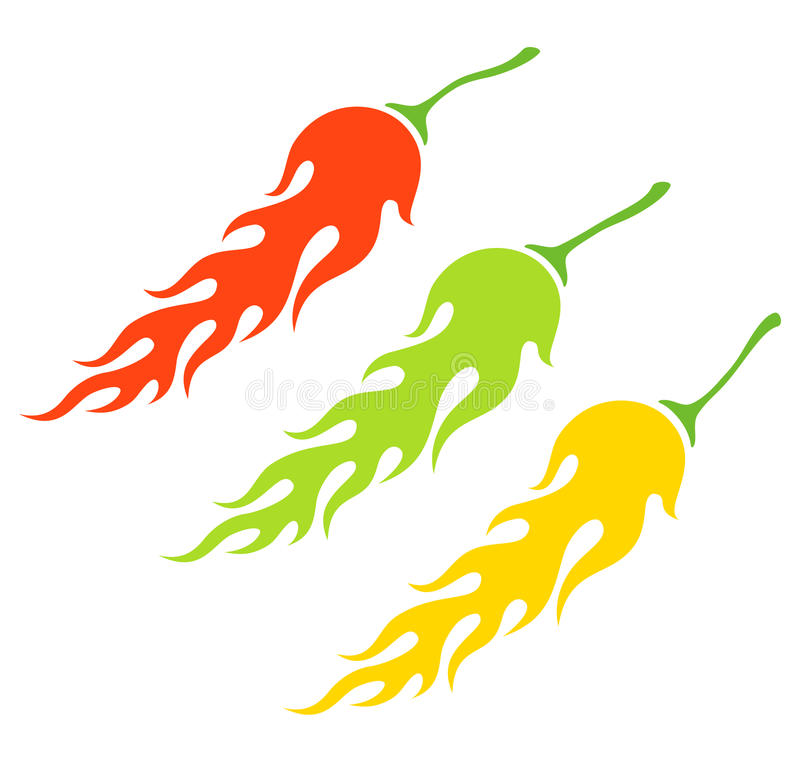 Free Chili Peppers Royalty Free Stock Photography - 24124947