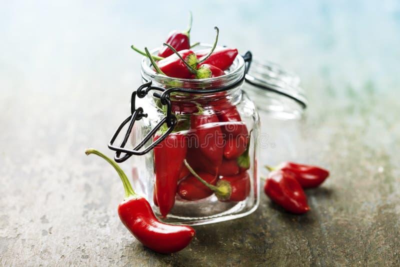 Chili Peppers images libres de droits