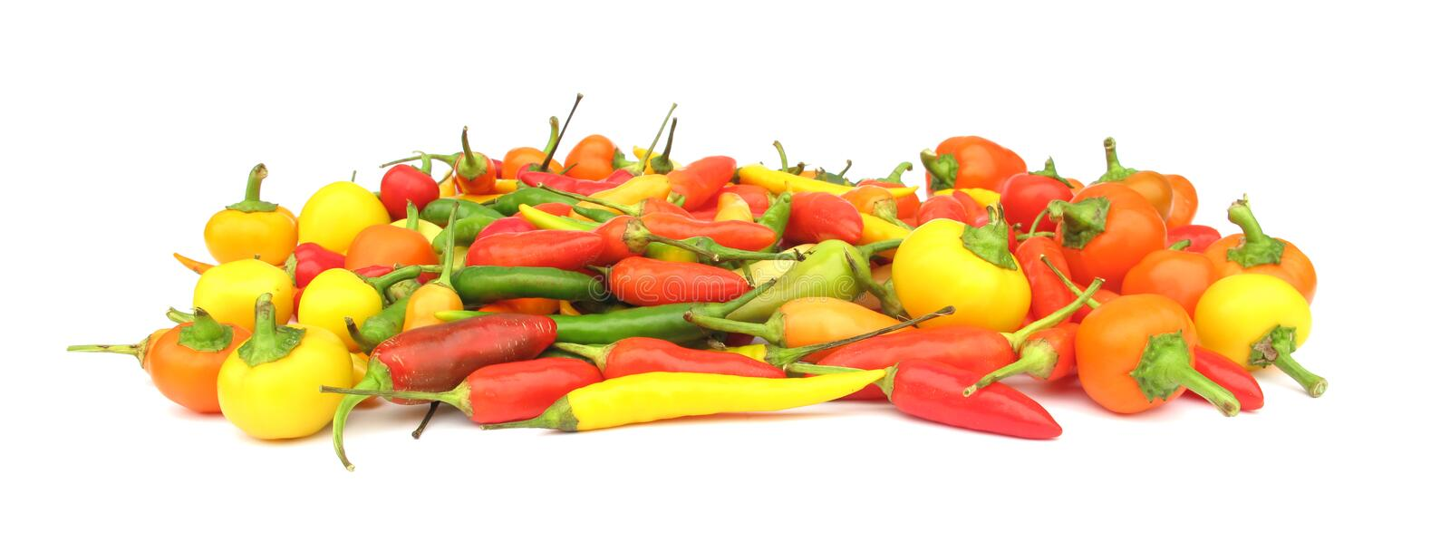 Chili Peppers Paprika Stock Photography