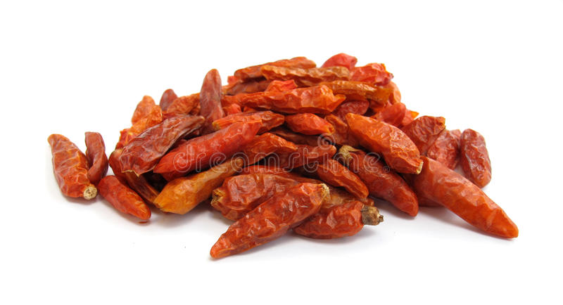 Chili peppers paprika dried stock images