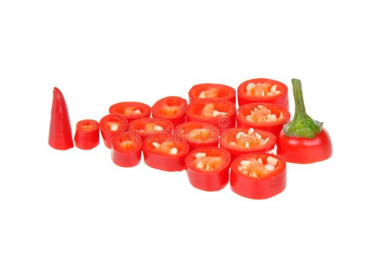 Chili pieprze obraz stock
