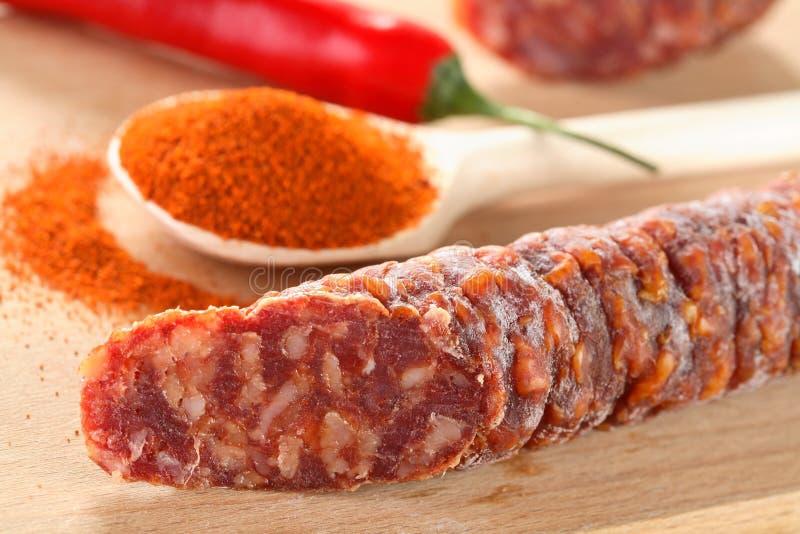 Chili and roast stock photography