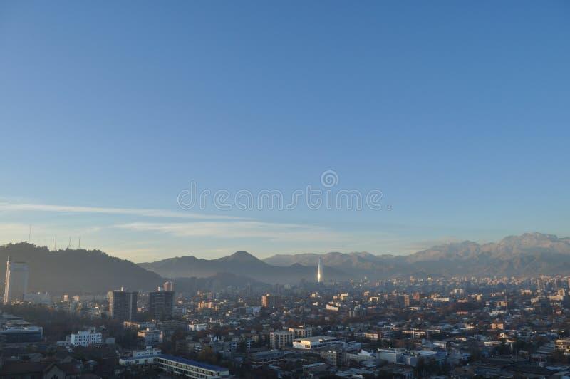 Chili, Santiago de Chile, Cityscape royalty-vrije stock fotografie