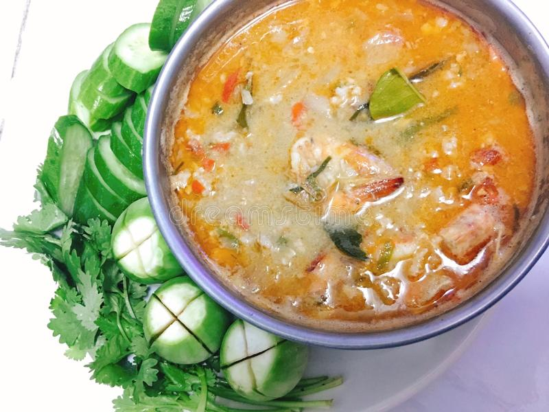 Chili Shrimp lizenzfreies stockfoto