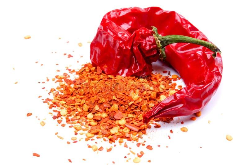 chili susząca pieprzowa czerwień zdjęcie stock