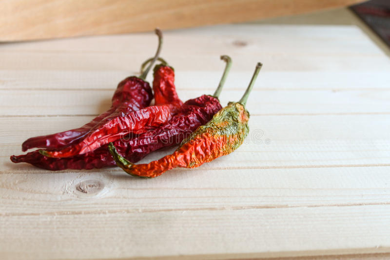 chili torkad peppar royaltyfria bilder