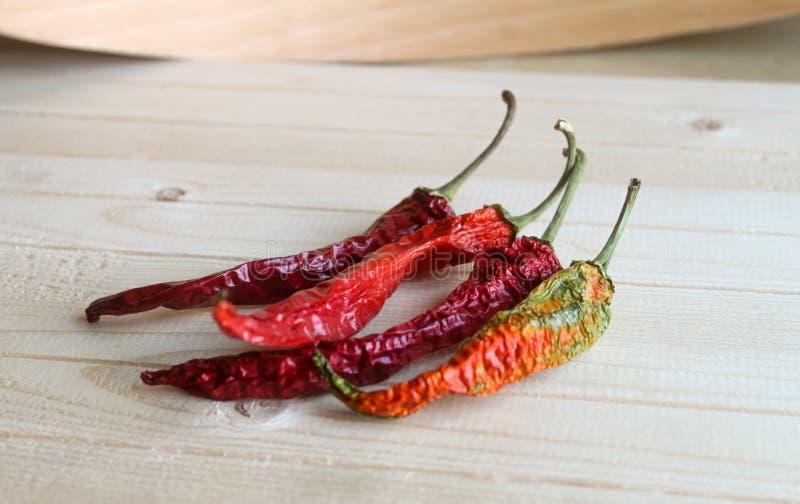 chili torkad peppar arkivbilder