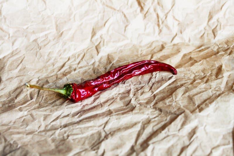 chili torkad peppar royaltyfri bild