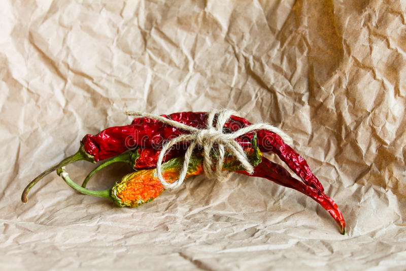 chili torkad peppar royaltyfria foton