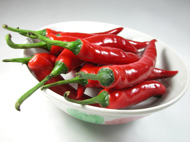 chilies fotografia stock