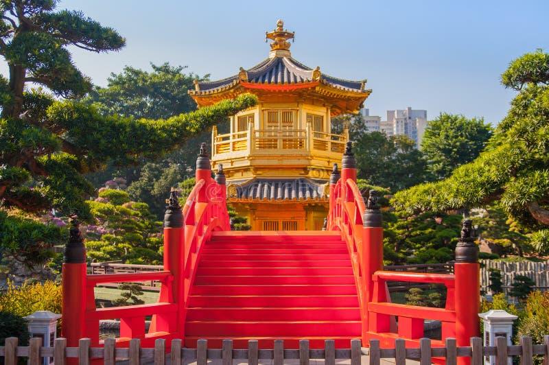 Chilin-Nonnenkloster, Hong Kong lizenzfreie stockbilder