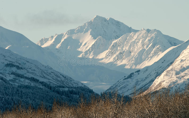 Download The Chilkat Valley Under A Covering Of Snow Stock Photo - Image: 22426178