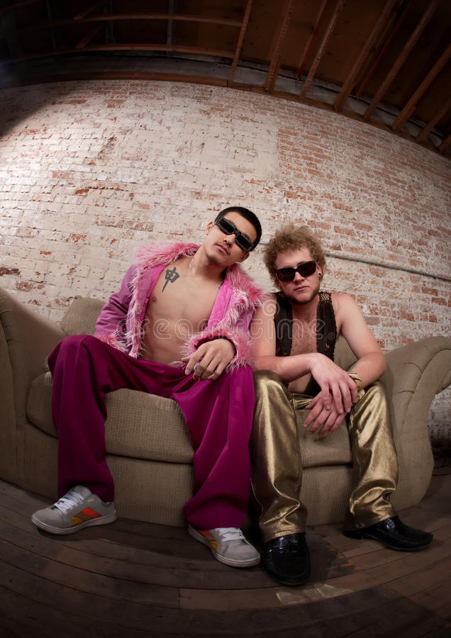 Download Chill stock photo. Image of male, disco, adults, pink - 14857318