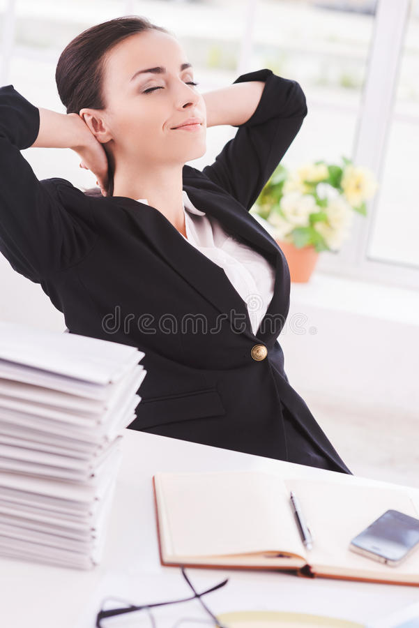 Chill time. stock photography