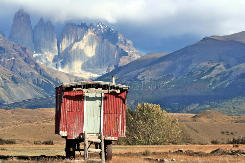 Chille Torres del Paine photographie stock