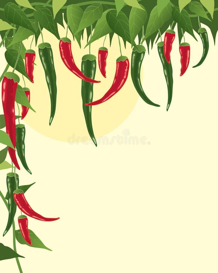 chillies royalty ilustracja