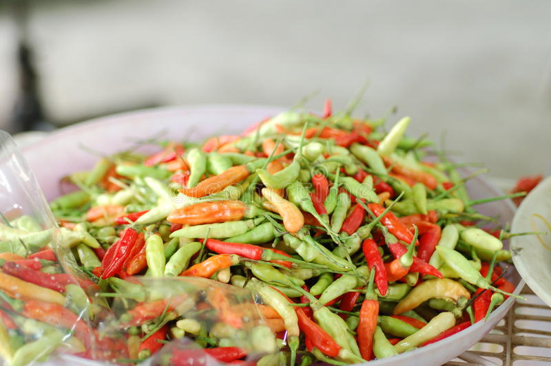 chillies kolorowi fotografia royalty free