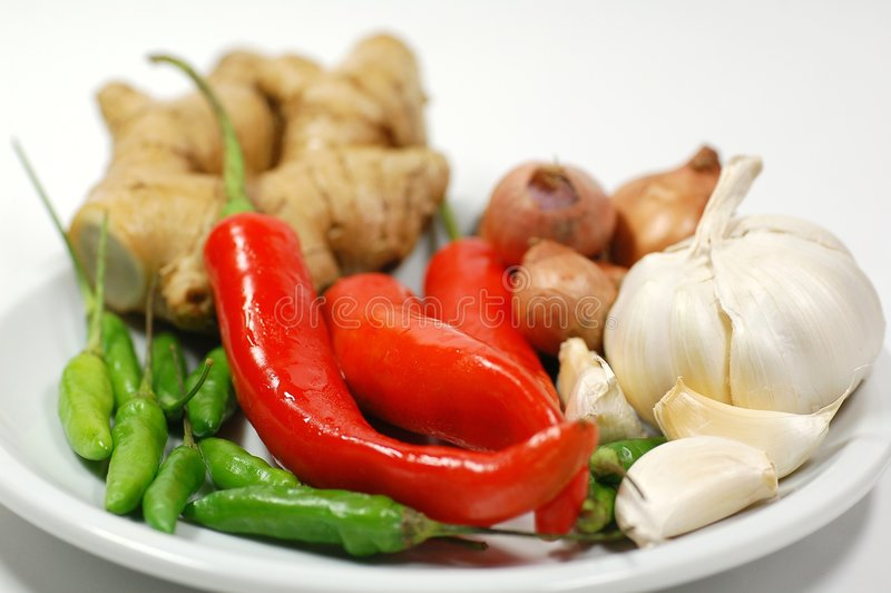 Download Chillies and Spices stock image. Image of onion, delicious - 3830525