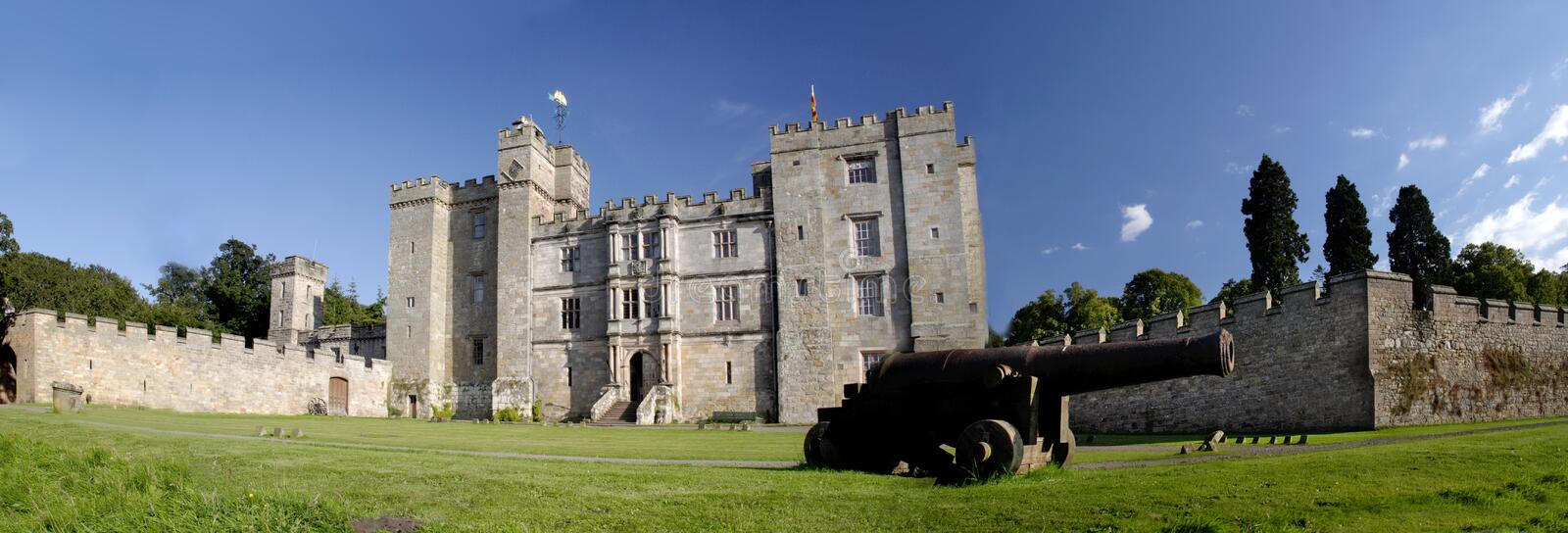 Download Chillingham Castle stock image. Image of most, canon, turrets - 2958393