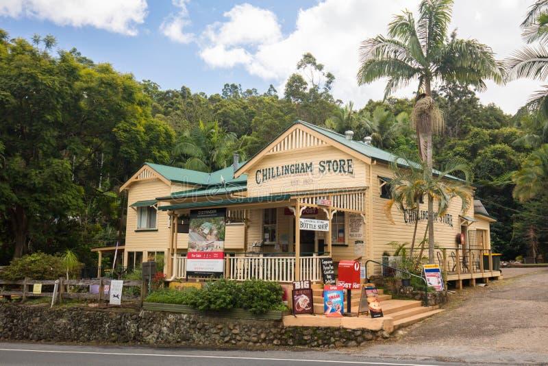 Chillingham społeczność miejska NSW zdjęcie stock