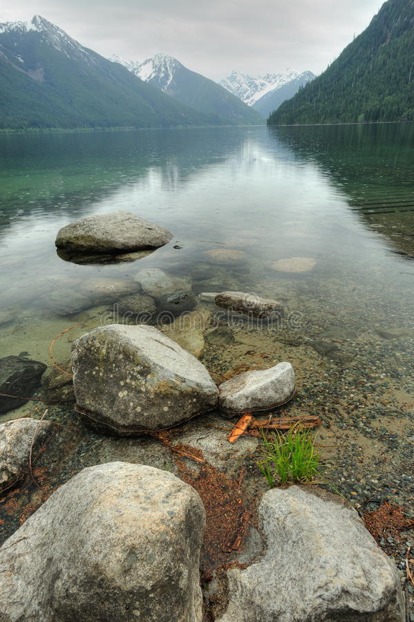 Chilliwack lake provincial park royalty free stock image