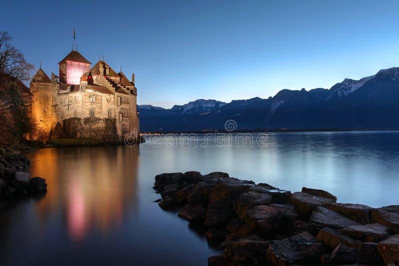 Chillon Castle, Montreux, Switzerland royalty free stock images