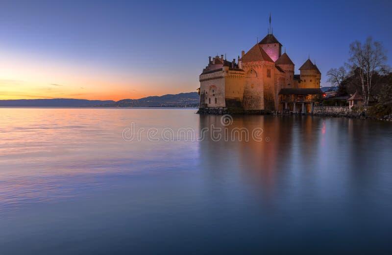 Chillon castle, Switzerland royalty free stock image
