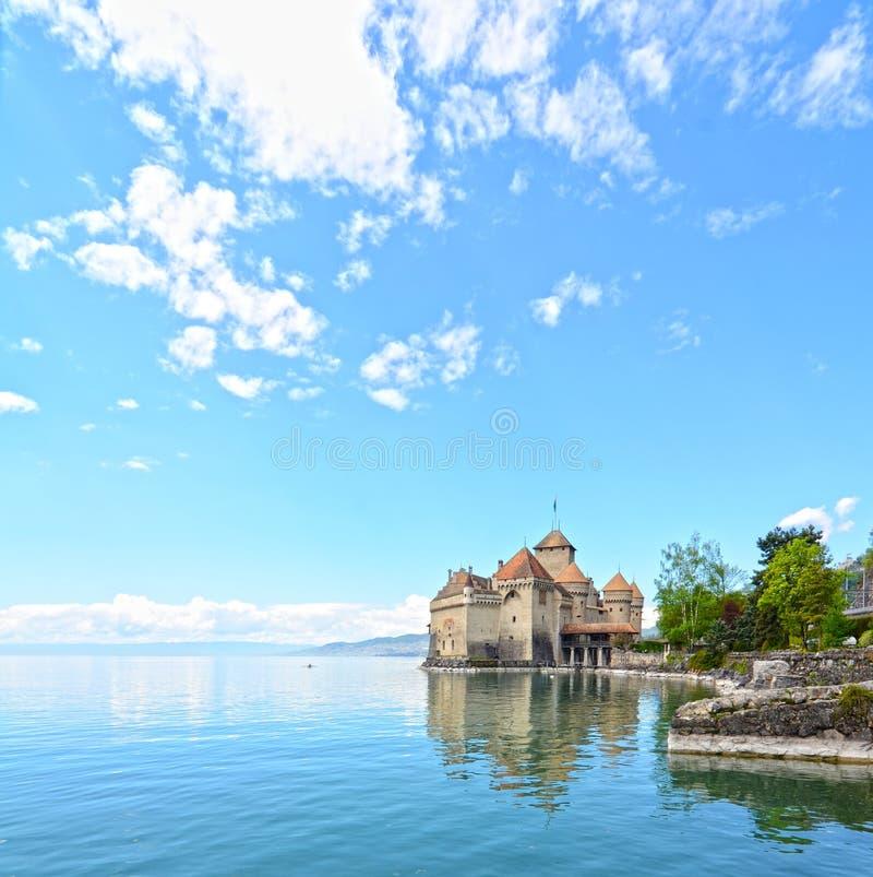 Download Chillon Schloss In Geneva See Stockbild - Bild von verstärkung, byron: 27728533